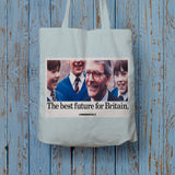 The best future for Britain Long Handled Tote Bag (Lifestyle)