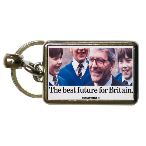 The best future for Britain Metal Keyring