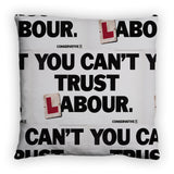 You can't trust Labour Feather Cushion