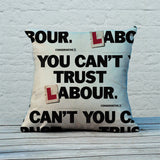 You can't trust Labour Feather Cushion (Lifestyle)