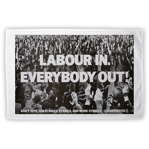 Labour in Tea Towel