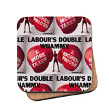Labour's double whammy Cork Coaster