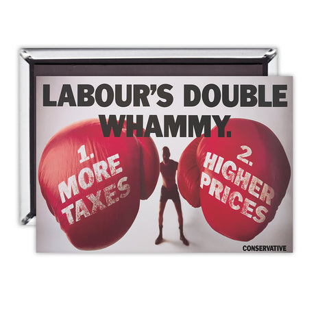 Labour's double whammy Magnet