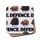 Defence Cork Coaster
