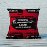 Labour's tax bombshell Feather Cushion (Lifestyle)