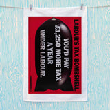 Labour's tax bombshell Tea Towel (Lifestyle)