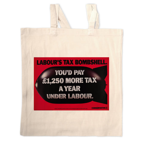 Labour's tax bombshell Long Handled Tote Bag