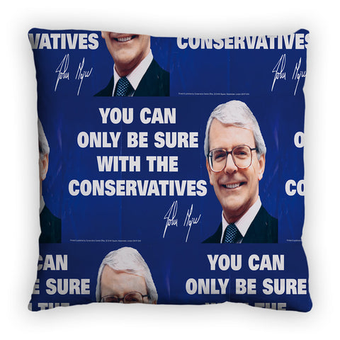 You can only be sure with the Conservatives Feather Cushion