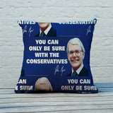 You can only be sure with the Conservatives Feather Cushion (Lifestyle)