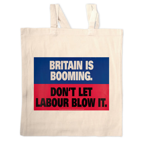 Britain is booming Long Handled Tote Bag