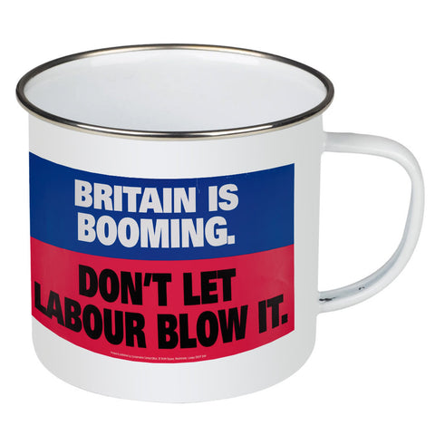 Britain is booming Enamel Mug