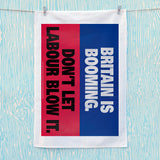 Britain is booming Tea Towel (Lifestyle)