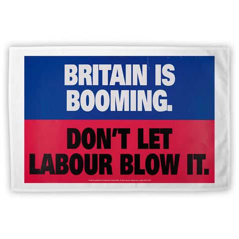 Britain is booming Tea Towel