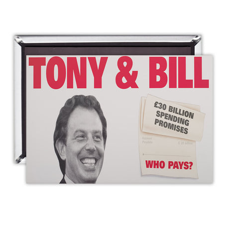 Tony & Bill Magnet
