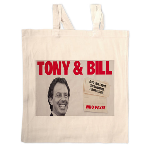 Tony & Bill Long Handled Tote Bag
