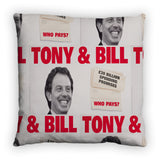 Tony & Bill Feather Cushion