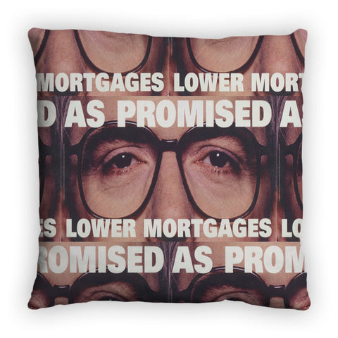 As promised. Lower mortgage Feather Cushion