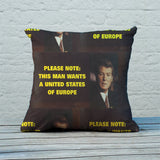 Please note: this man wants a United States of Europe Feather Cushion (Lifestyle)