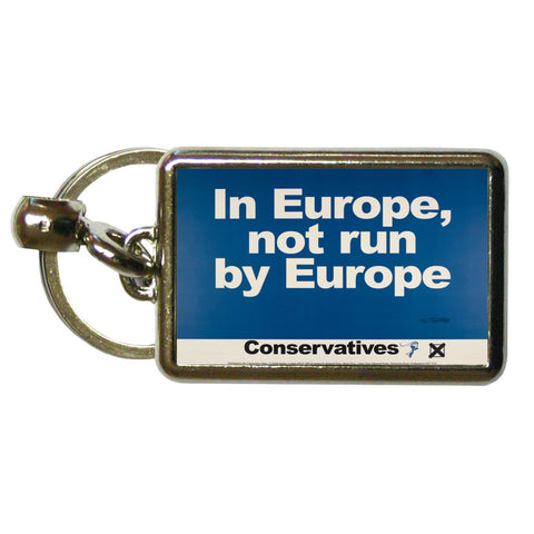 In Europe, not run by Europe Metal Keyring