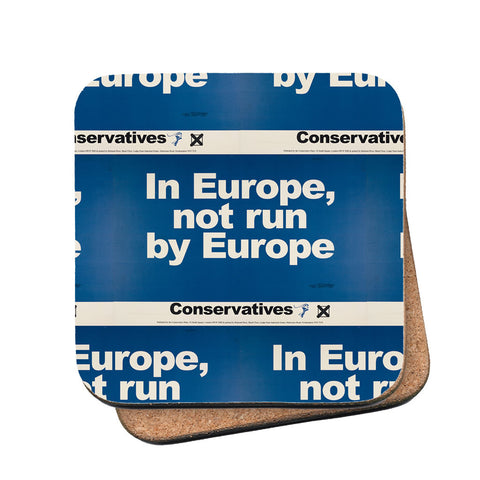 In Europe, not run by Europe Cork Coaster