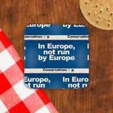 In Europe, not run by Europe Cork Coaster (Lifestyle)