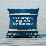 In Europe, not run by Europe Feather Cushion (Lifestyle)