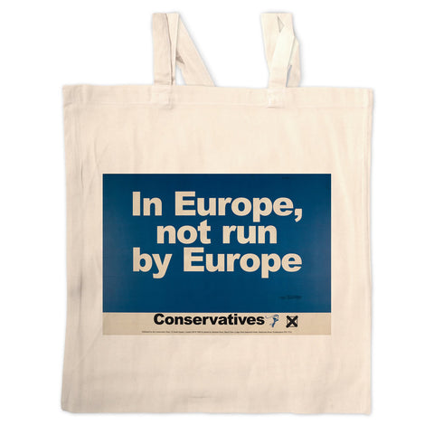 In Europe, not run by Europe Long Handled Tote Bag