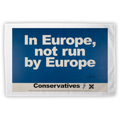 In Europe, not run by Europe Tea Towel
