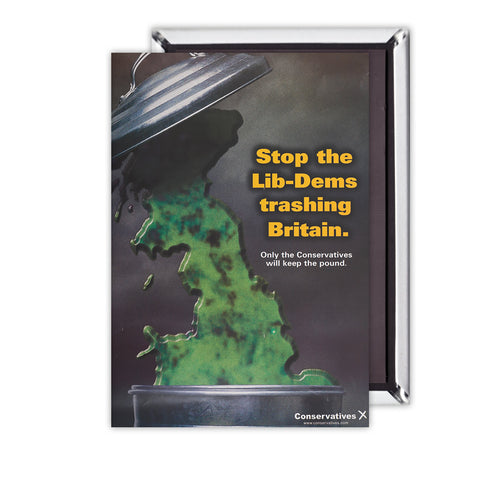 Stop the Lib-Dems trashing Britain Magnet