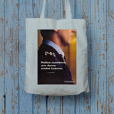 Police numbers are down under Labour Long Handled Tote Bag (Lifestyle)