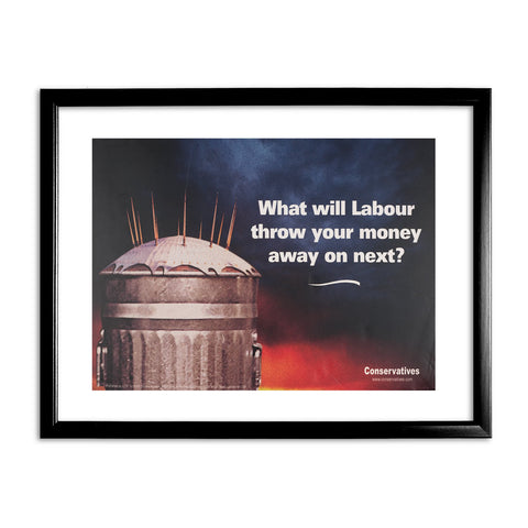 What will Labour throw your money away on next? Black Framed Print