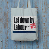 Let down by Labour Long Handled Tote Bag (Lifestyle)