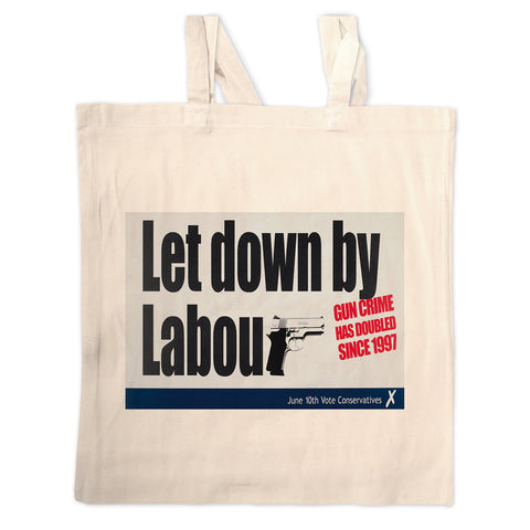 Let down by Labour Long Handled Tote Bag