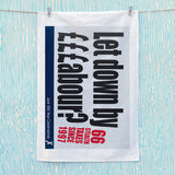 Let down by £££abour? 66 Stealth taxes Tea Towel (Lifestyle)
