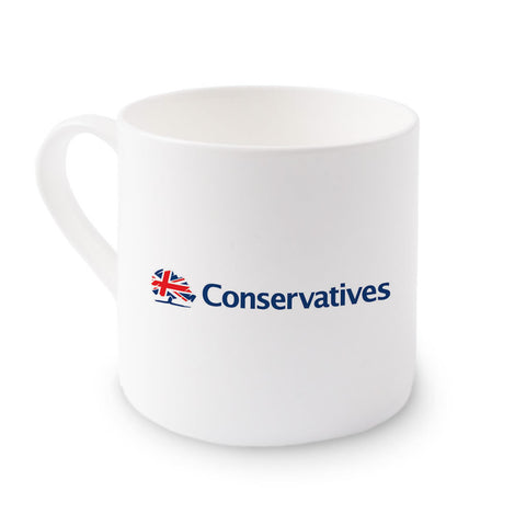 Conservatives Big Bone China Mug