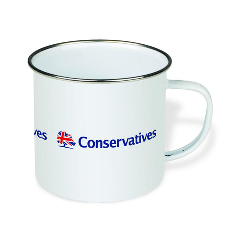 Conservatives Enamel Mug