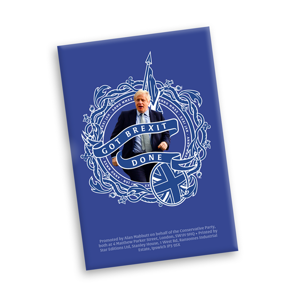 Official Got Brexit Done Conservatives Magnet