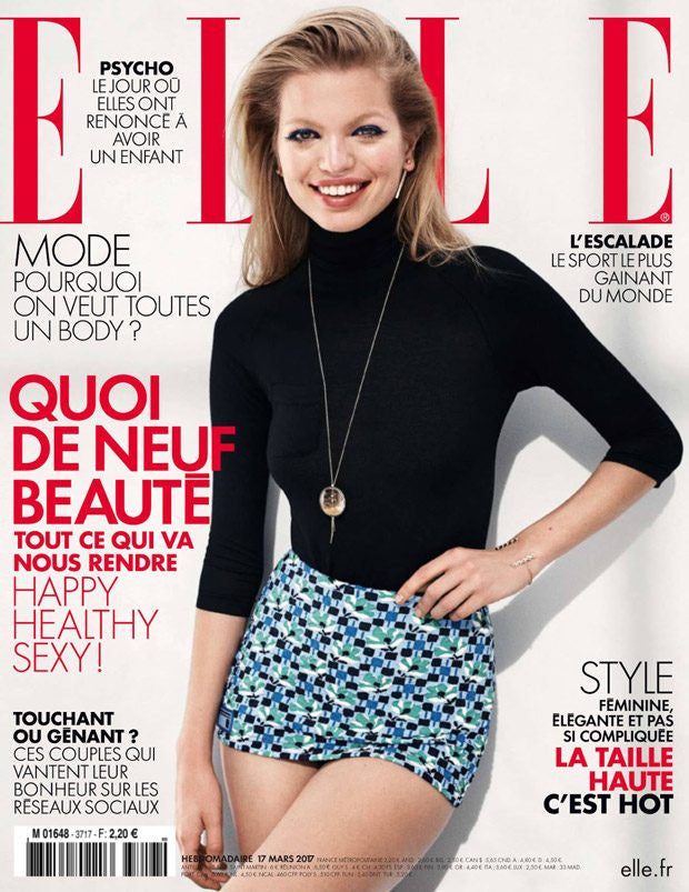 Elle France cover with Daphne Groeneveld