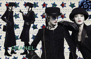 Chanel Fall - winter ad campaign with Mily's eye flashes