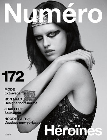 numéro - April 2016 edition - cover page