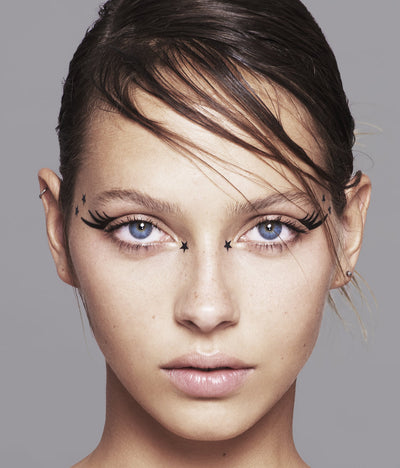 No.34 </br>Le Mix - beauty spots, mini eye flashes, eyeliners</br>matte black