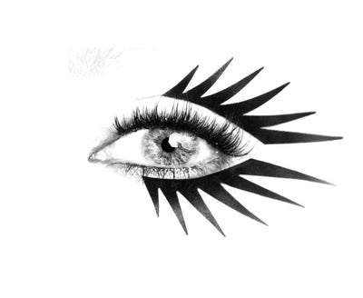 No.31 </br> Eye flashes </br> matte black