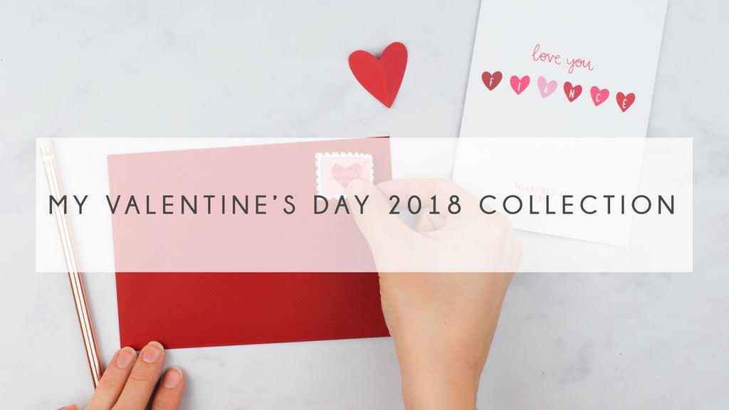 My Valentine's Day 2018 Collection by Kimberley Rose Studio