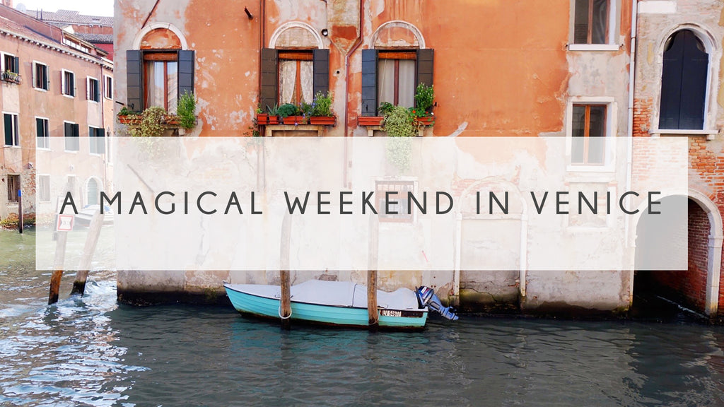 A Magical Weekend in Venice by Kimberley Rose Studio