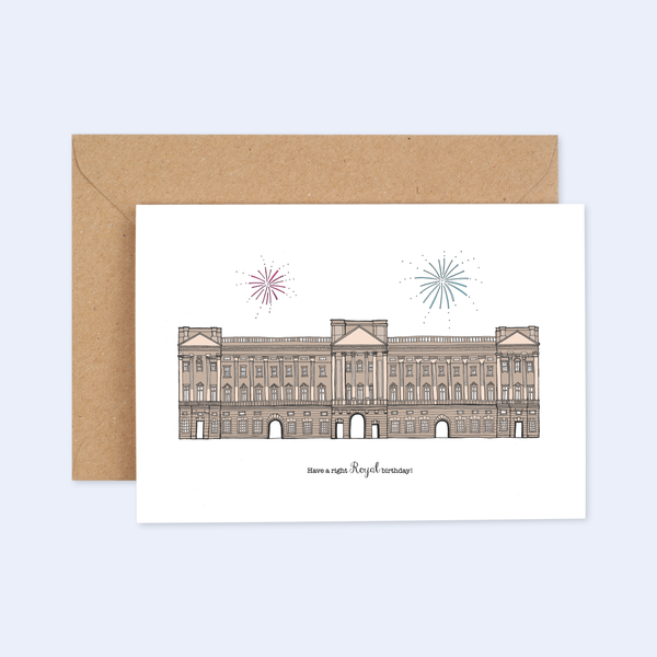 'Right Royal Birthday' Card