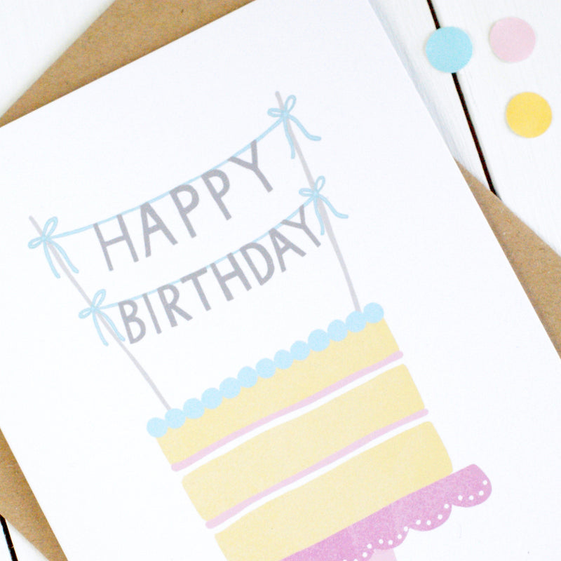 Cake Birthday Card