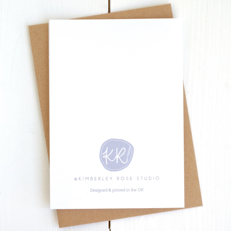 Kimberley Rose Studio Card