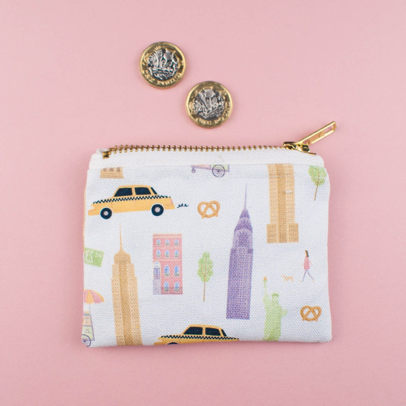 New York City Coin Purse