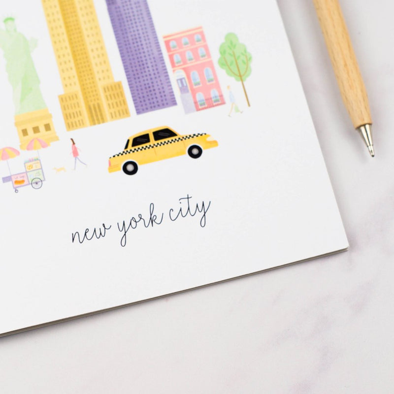 New York City A5 Notebook