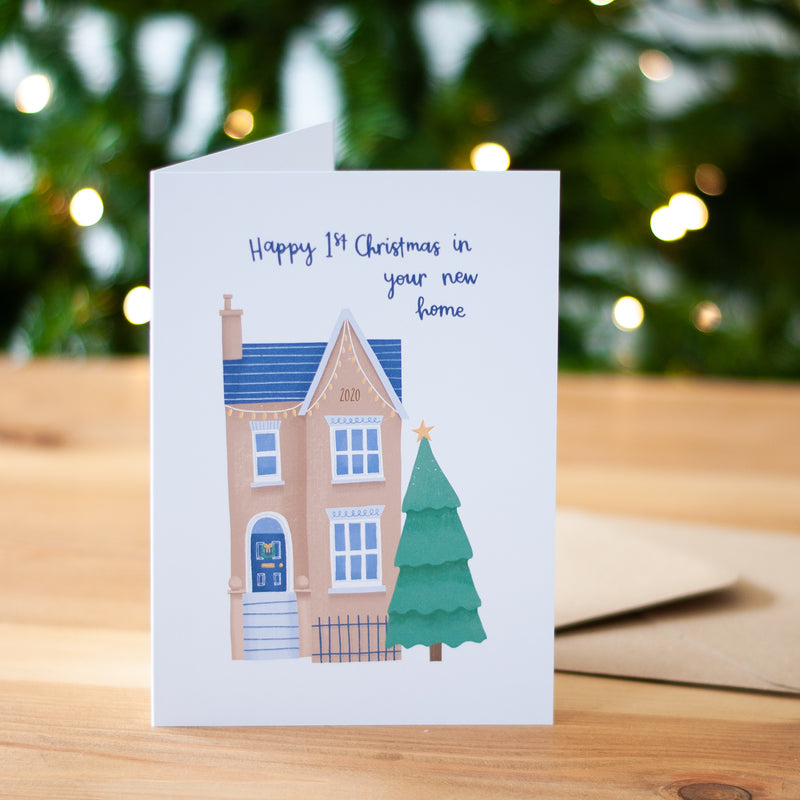 First Christmas in your New Home Card